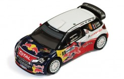 Citroen DS3 WRC #4 S. Loeb-S. Loeb Winner Monza Rally 2011
