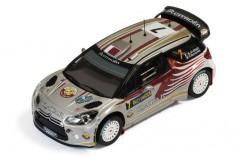 Citroen DS3 WRC #7 N. Al-Attiyah-G. Bernacchini Rally Sweden 2012