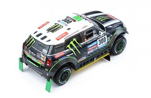 MINI ALL 4 RACING #300 S.Peterhansel-J.P.Cottret 2nd DAKAR 2014