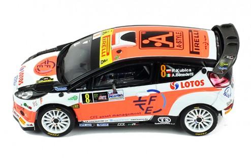 FORD FIESTA RS WRC #8 R.Kubica - A.Benedetti Winner Monza 2014