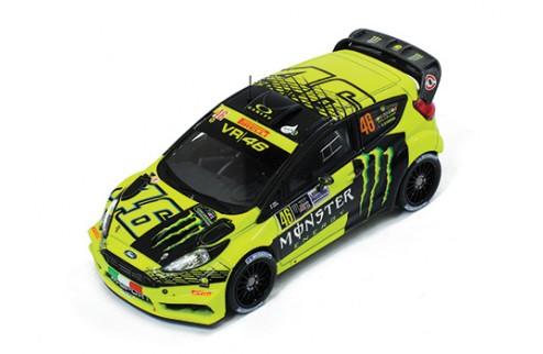 FORD FIESTA RS WRC #46 V. Rossi - C.Cassina  Winner MONZA Rally 2015
