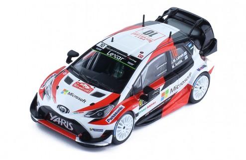 TOYOTA YARIS WRC #10 J-M. Latvala - M. Anttila Rallye Monte-Carlo 2017