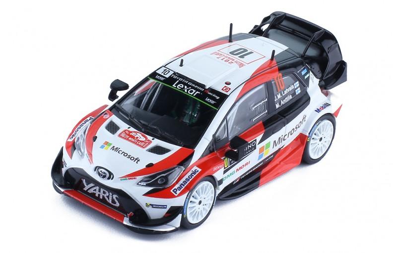 Toyota Yaris Wrc 10 J M Latvala M Anttila Rallye Monte Carlo 2017