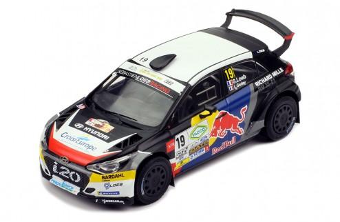 HYUNDAI i20 R5 #19 S. Loeb - L. Godey - Rallye Terre du Var 2019