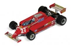 Ferrari 126CK #27 G. Villeneuve Winner Spanish GP 1981