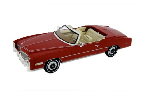 Cadillac Eldorado Open Convertible - Red with Beige Interiors - 1976