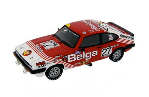 Ford Capri III 3.0S #27 G. Spice - T. Pilette Winner 24H Spa - Red and White 1978