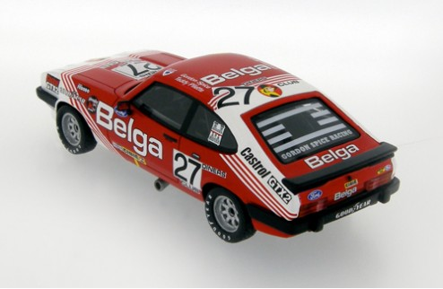 Ford Capri III 3.0S #27 G. Spice - T. Pilette Winner 24H Spa - Red and White 1978