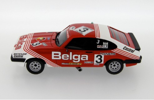 Ford Capri III 3.0S #3 J.-M. Martin - P. Martin Winner 24H Spa - Red and White - 1980