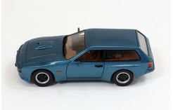 PORSCHE 924 Turbo Kombi by ARTZ - Dark Blue - 1981
