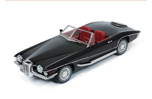 STUTZ BLACKHAWK Convertible 1971 Black  (Resin)