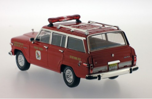 Jeep Wagoneer Lakes Fire - Red - 1989