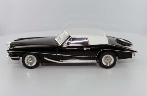 Stutz Blackhawk Convertible with Hard Top - Black - 1971