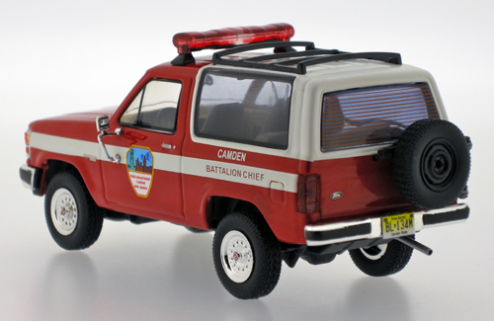 Ford Bronco II - FDCNJ (Fire Department Camden New Jersey) - 1989