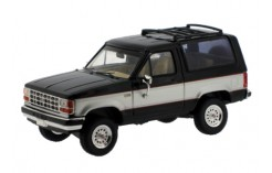 Ford Bronco II - 2 Tones Black/Silver - 1989