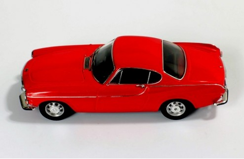 Volvo P1800 - Red - 1965