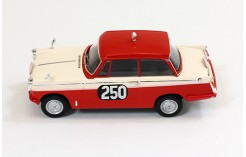 TRIUMPH Herald Saloon #250 Cleghorn/Wright Monte Carlo Rally 1960 - Red & Yellow - 1960