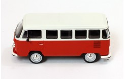 VOLKSWAGEN T2 Kombi - Red/White - 1976