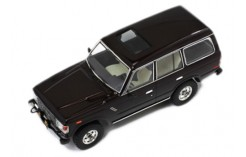 TOYOTA Land Cruiser (Scale 1/43) - Metallic Dark Brown - 1982
