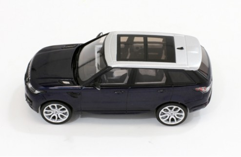 RANGE ROVER Sport - Blue with Silver Roof - 2013