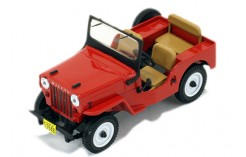 Willys Jeep CJ3B - Red - 1953