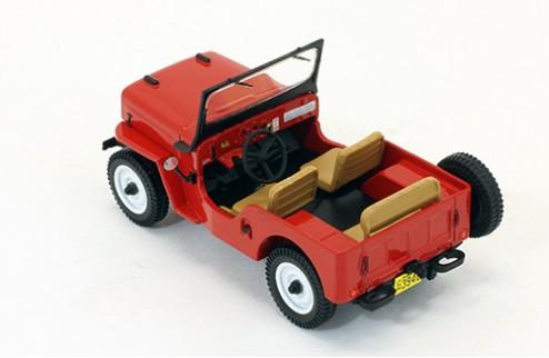 Willys Jeep CJ3B - Red - 1953