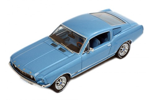 FORD Mustang Fastback - Blue - 1968