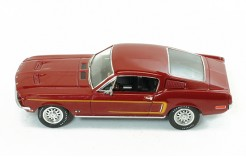 FORD Mustang GT-390 Fastback - Bordeaux - 1968