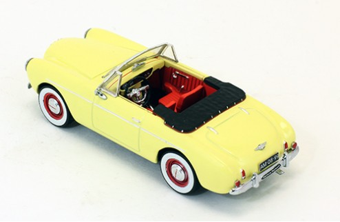 Volvo P1900 Sport Convertible - Light Yellow - 1955