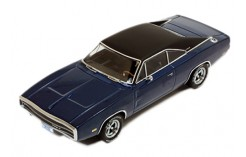 DODGE Charger 500 - Blue W/ Black Roof - 1970