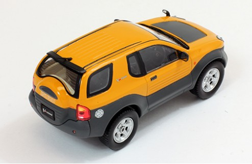 ISUZU Vehicross - Yellow - 1997